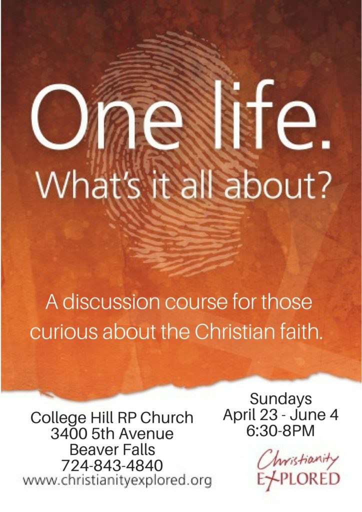 College Hill RP Church3400 5th AvenueBeaver Falls